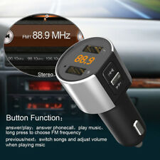 Bluetooth FM Transmitter Car Kit MP3 Player Wireless Radio Adapter USB Charger