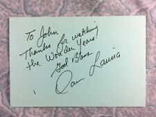 Dan Lauria - The Wonder Years - Independence Day - Autographed 1988