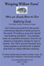 Premium Chinchilla Bathing Dust for Chinchillas, Gerbils, Hamsters and Degus