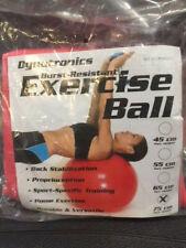 Dynatronics Burst Resistant Exercise Ball - Red 75 cm (New)