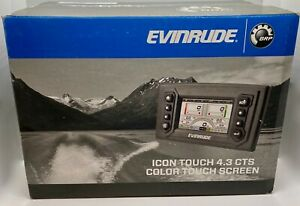 EVINRUDE / BRP ICON TOUCH 4.3 CTS COLOR SCREEN MONITOR KIT, 0769943