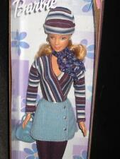 Barbie Corduroy Cool #24658 in Blue 1999 Honey Blond doll