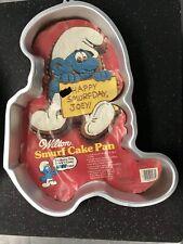 Vintage 1983 Wilton Smurf Cake Pan 2105-5435