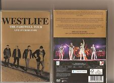 WESTLIFE THE FAREWELL TOUR LIVE AT CROKE PARK DVD MUSIC CONCERT