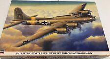Hasegawa B-17F Flying Fortress Luftwaffe Erprobungskommando 1/72 Open