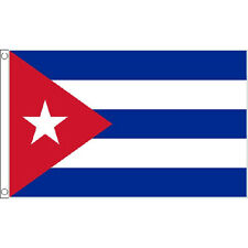 Cuba Large Flag 8Ft X 5Ft Cuban National Country Banner With 2 Eyelets
