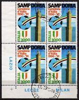 #738 - Repubblica - Scudetto alla Sampdoria in quartina, 1991 - Usati