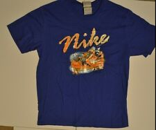 New with tags Nike Basketball Graphic blue / Orange Shirt NWT sz L