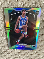 2019-20 MATISSE THYBULLE SILVER PRIZM RC ROOKIE 76ERS #290 REFRACTOR