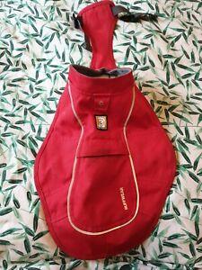 Ruffwear Size XXS Red Waterproof Dog Raincoat Jacket  (H13)