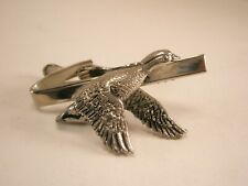 -Goose in Flight Vintage Tie Bar Clip canada brent bean white fronted cackling