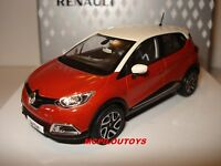 COFFRET  NOREV RENAULT CAPTUR BICOLORE ORANGE ARIZONA & IVOIRE au 1/43°