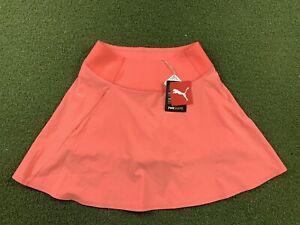 Puma Pwrshape Solid Woven Skirt Peach Pink Women's SZ S ( 595853 21 )