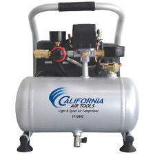 California Air Tools IP Light & Quiet .6-HP 1-Gallon Steel Tank Hot Dog Air C...