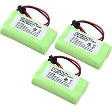 3pcs Cordless Home Phone Rechargeable Battery For Uniden BT-1007 BT-1015 BT904