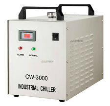 Industrial Water Chiller 1.5 KW CNC spindles 40W-80W CO2 Laser Tube CW3000DG