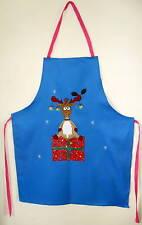 Rudolph nez rouge renne tablier taille adulte noël cuisson cuisson 76cm premier