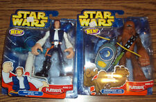 Star Wars Jedi Force: Han Solo with Jet Bike and Chewba