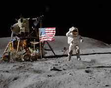 Apollo 16 Moon Landing NASA John Young 11 x 14 Photo Picture Photograph Poster