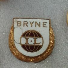 BRYNE FC OF NORWAY OFFICIAL 1970'S STICKPIN BADGE GOOD/FAIR CONDITION