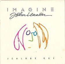 JOHN LENNON Jealous Guy 4:10 1988 USA EMI Capitol Promo CD Single