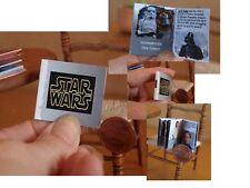 Star Wars, artisan miniature book. Scale 1:12