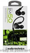 New audio-technica Dual Symphonic Drivers Inner Ear Headphones ATH-IM50 BK F/S
