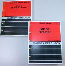 MASSEY FERGUSON MF 30 INDUSTRIAL TRACTOR SERVICE PARTS MANUALS REPAIR CATALOG