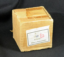 "Beautiful Hand Made Ceska Czechoslovakia Crystal Dice Paperweight - 2"" + 14 Oz"