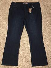 Seven7 Jeans Slim Boot Plus Size 26 Inseam 33 Womens Melissa McCarthy 26W NWT