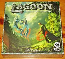 LAGOON: LAND OF THE DRUIDS Tile Board Game 3HG101 NEW/FREE SHIPPING/SHIPS INT'L!