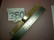 Vtg HAMILTON /JB Champion USA Mesh Gold Filled 1/20 10K GF 17.3mm lug Watch BAND