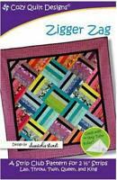 Zigger Zag Quilt Pattern - Cozy Quilt Designs