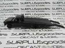 Greenlight 1:64 Scale LOOSE Black 1972 FORD F-350 F350 RAMP TOW TRUCK Wrecker
