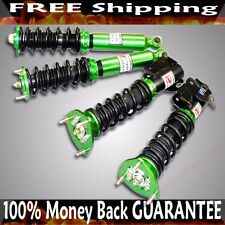 GREEN Complete Coilover Suspension fits Nissan 89-94 240SX S13