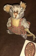 MACARONI SOFT PLUSH MOUSE - GANZ COTTAGE COLLECTIBLES - NEW WITH TAGS