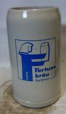 große Auflösung Bierkrug Nr. 1256 Fortuna Bräu Augsburg