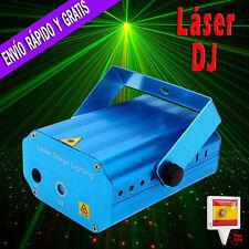 Luz Laser proyector discoteca Holografico Led foco Iluminacion fiesta DJ sonido