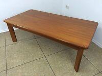 70er Jahre Teak Tisch Coffee Table Couchtisch Danish Design Denmark Mid Century