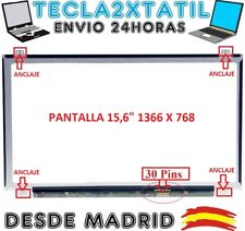 "PANTALLA DE Y PARA PORTATIL B156XTN04.0 15,6"" HD LCD LED 30 PIN EDP 1366X768"