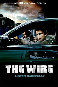The Wire Movie Poster Photo Print TV HBO 24x36 B