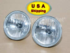 "4 1/2"" Diamond Cut Ice Auxiliary Passing Lamp Driving Spot Fog Lights Harley US"