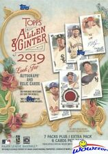 2019 Topps Allen & Ginter Baseball EXCLUSIVE Factory Sealed Blaster Box!