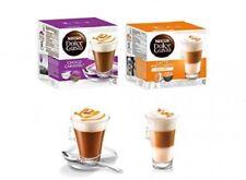DOLCE GUSTO Coffee & MILK PODS CARAMEL COLLECTION Latte Caramel + CHOCO CARAMEL