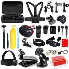 43-in-1 Accessories Kit Essential GoPro Hero 5/4/3/2/1 Session Hero Bundle Black