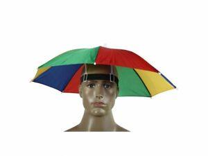 3 x Hat Umbrella Headwear Rainbow Pride Mardi Gras  - Its Raining Men