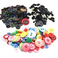 Mixed Plastic Buttons Assorted Arts & Crafts Sew On Haberdashery Embellishments