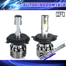 H4 9003 HB2 4 Side LED Bulbs HID High Low Beam Headlight 6000K 48000LM 480W
