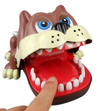Bulldog Crocodile Shark Mouth Fun Bite Finger Game Funny Novelty Gag Toy