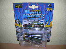 MAISTO MUSCLE MACHINES 1965 Chevrolet Chevelle olive vert , 1:64